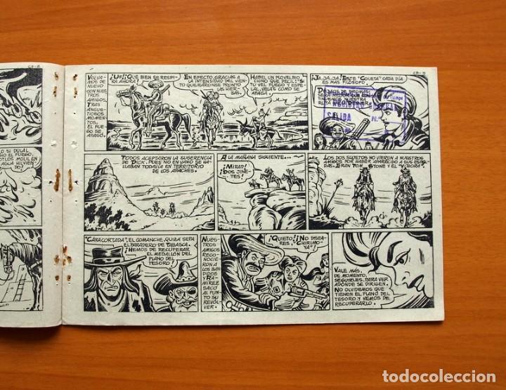 Tebeos: Dick Relámpago, el Rey de la Pradera - Cerco de fuego - nº 10 - Ediciones Toray 1960 - Foto 3 - 130344174