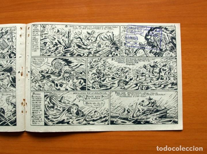 Tebeos: Dick Relámpago, el Rey de la Pradera - Cerco de fuego - nº 10 - Ediciones Toray 1960 - Foto 5 - 130344174