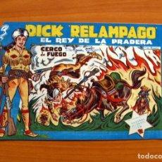 Tebeos: DICK RELÁMPAGO, EL REY DE LA PRADERA - CERCO DE FUEGO - Nº 10 - EDICIONES TORAY 1960. Lote 130344246
