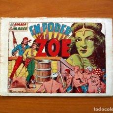 Tebeos: EL DIABLO DE LOS MARES - VOLUMEN Nº 3, EN PODER DE ZOE - EDICIONES TORAY 1949. Lote 130384514