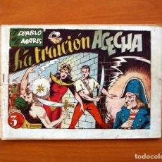 Tebeos: EL DIABLO DE LOS MARES - VOLUMEN Nº 5, LA TRAICIÓN ACECHA - EDICIONES TORAY 1949. Lote 130384666