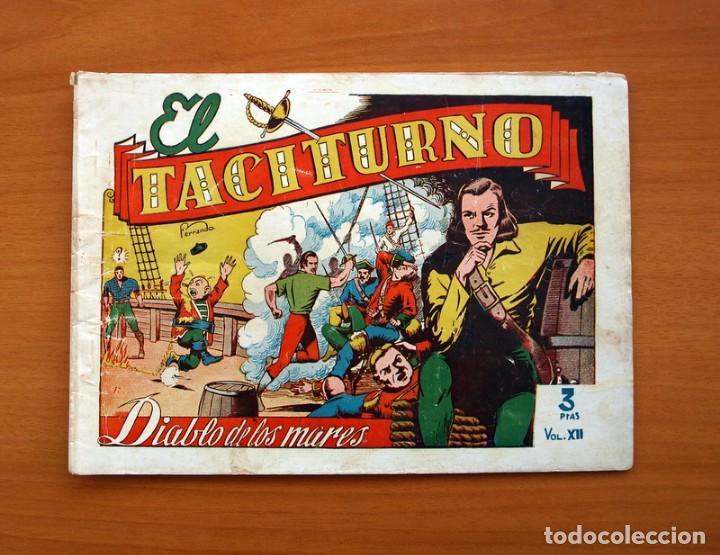 EL DIABLO DE LOS MARES - VOLUMEN Nº 12, EL TACITURNO - EDICIONES TORAY 1949 (Tebeos y Comics - Toray - Diablo de los Mares)
