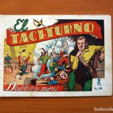 Tebeos: EL DIABLO DE LOS MARES - VOLUMEN Nº 12, EL TACITURNO - EDICIONES TORAY 1949. Lote 130384902