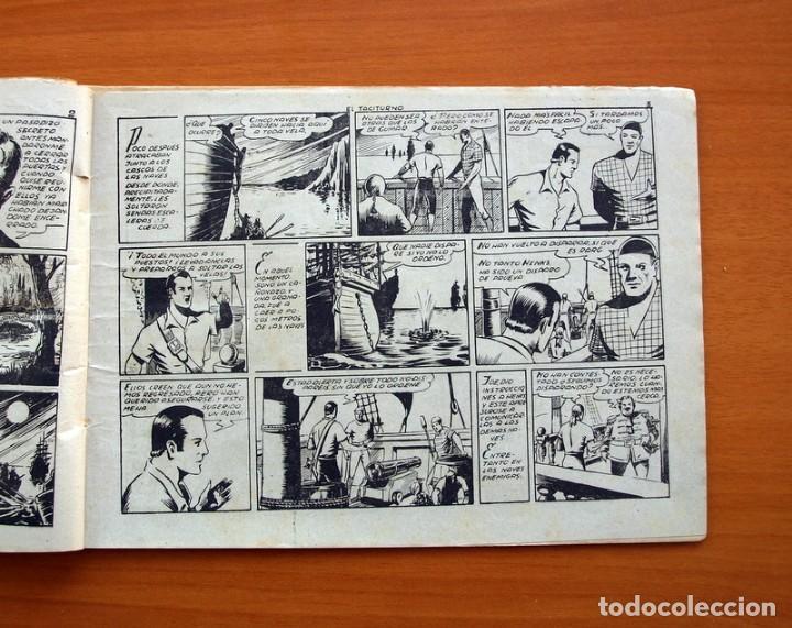 Tebeos: El diablo de los mares - Volumen nº 12, El Taciturno - Ediciones Toray 1949 - Foto 3 - 130384902