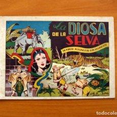 Tebeos: LA VUELTA AL MUNDO DE DOS MUCHACHOS, ÁLBUM V, LA DIOSA DE LA SELVA - EDICIONES TORAY 1951. Lote 130429578