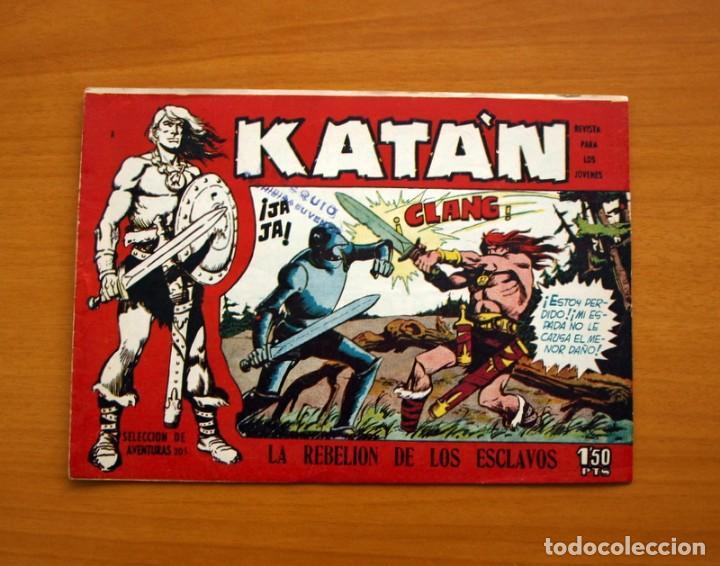 KATÁN - LA REBELIÓN DE LOS ESCLAVOS, Nº 2 - EDICIONES TORAY 1960 (Tebeos y Comics - Toray - Katan)
