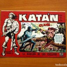 Tebeos - Katán - La rebelión de los esclavos, nº 2 - Ediciones Toray 1960 - 130484890