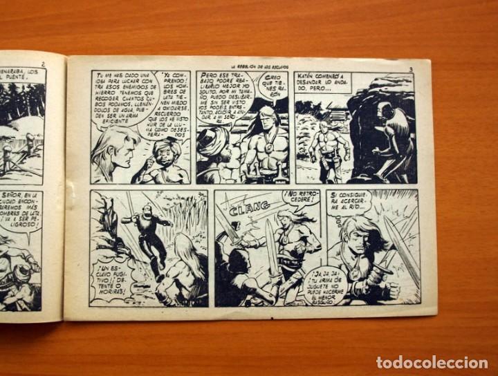 Tebeos: Katán - La rebelión de los esclavos, nº 2 - Ediciones Toray 1960 - Foto 3 - 130484890