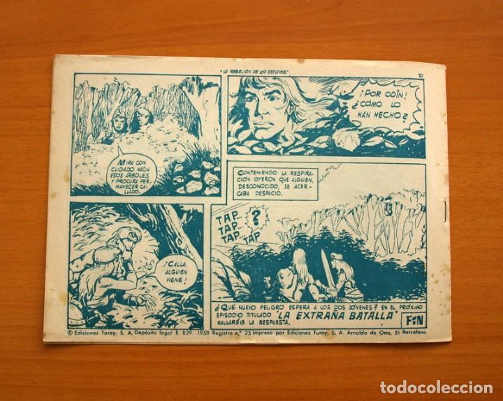 Tebeos: Katán - La rebelión de los esclavos, nº 2 - Ediciones Toray 1960 - Foto 7 - 130484890