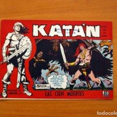 Tebeos: KATÁN - LAS CIEN MUERTES, Nº 7 - EDICIONES TORAY 1960 - SIN ABRIR. Lote 130485350