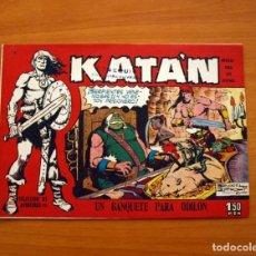 Tebeos: KATÁN - UN BANQUETE PARA ODILÓN, Nº 8 - EDICIONES TORAY 1960 . Lote 130485562