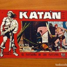 Tebeos: KATÁN - EL FANTASMA DE LOS PANTANOS, Nº 12 - EDICIONES TORAY 1960 . Lote 130492886