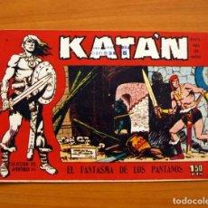 Tebeos: KATÁN - EL FANTASMA DE LOS PANTANOS, Nº 12 - EDICIONES TORAY 1960 . Lote 130492930