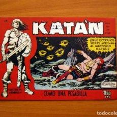 Tebeos: KATÁN - COMO UNA PESADILLA, Nº 14 - EDICIONES TORAY 1960 . Lote 130493082