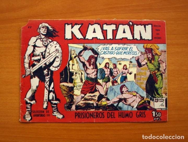 KATÁN - PRISIONEROS DEL HUMO GRIS, Nº 17 - EDICIONES TORAY 1960 (Tebeos y Comics - Toray - Katan)