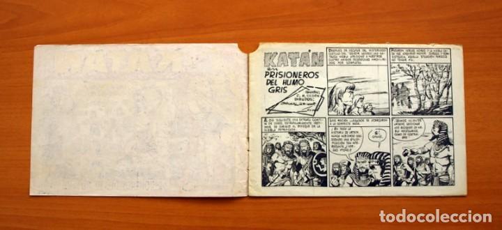 Tebeos: Katán - Prisioneros del humo gris, nº 17 - Ediciones Toray 1960 - Foto 2 - 130493526