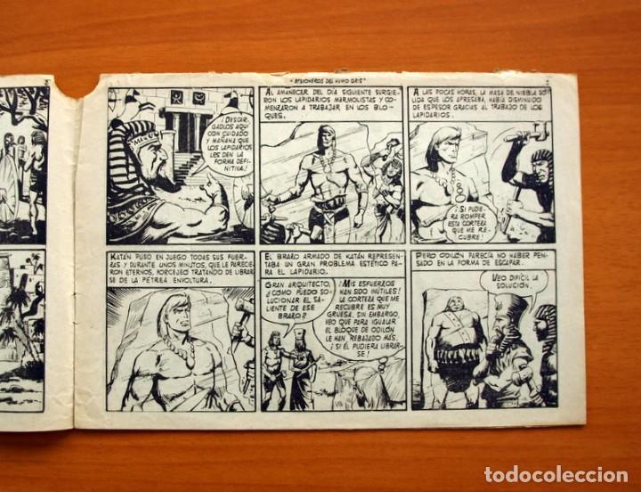 Tebeos: Katán - Prisioneros del humo gris, nº 17 - Ediciones Toray 1960 - Foto 3 - 130493526