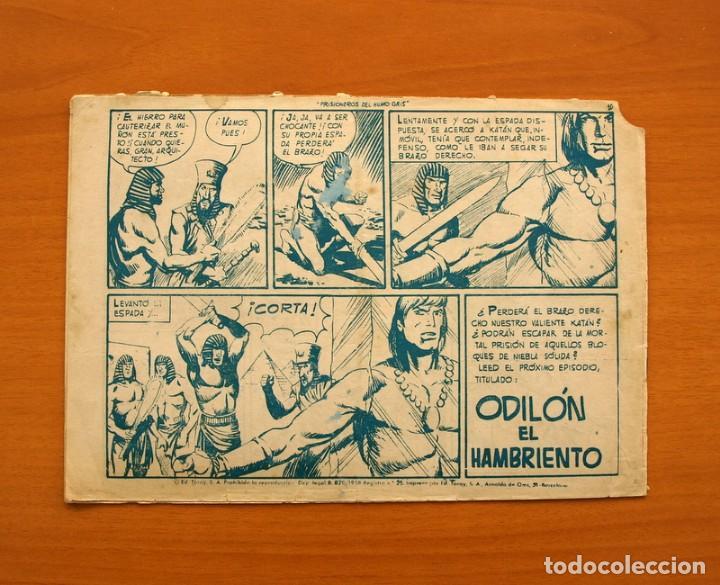 Tebeos: Katán - Prisioneros del humo gris, nº 17 - Ediciones Toray 1960 - Foto 7 - 130493526