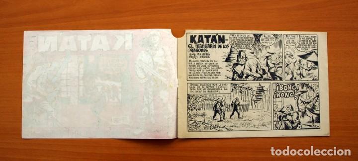 Tebeos: Katán - El Mandarín de los Dragones, nº 28 - Ediciones Toray 1960 - Foto 2 - 130493586
