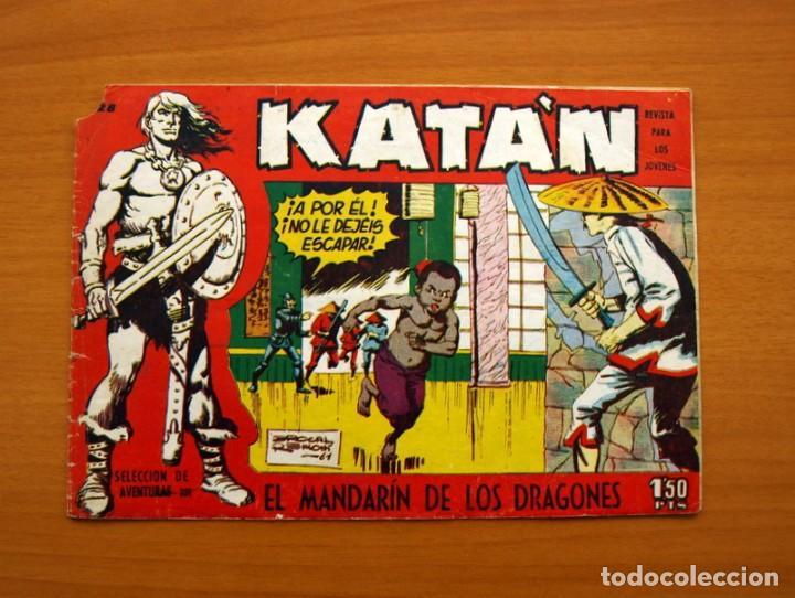 KATÁN - EL MANDARÍN DE LOS DRAGONES, Nº 28 - EDICIONES TORAY 1960 (Tebeos y Comics - Toray - Katan)