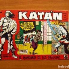 Tebeos: KATÁN - EL MANDARÍN DE LOS DRAGONES, Nº 28 - EDICIONES TORAY 1960 . Lote 130493606