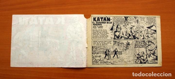 Tebeos: Katán - El Mandarín de los Dragones, nº 28 - Ediciones Toray 1960 - Foto 2 - 130493606