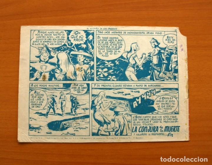 Tebeos: Katán - El Mandarín de los Dragones, nº 28 - Ediciones Toray 1960 - Foto 7 - 130493606
