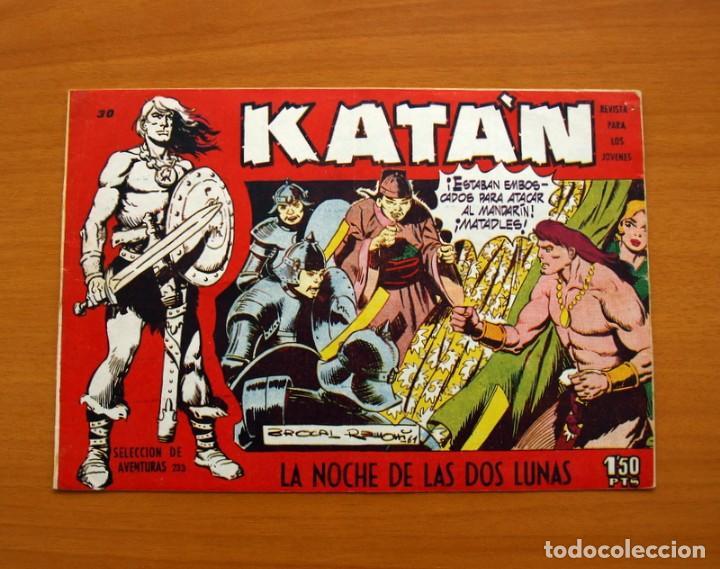 KATÁN - LA NOCHE DE LAS DOS LUNAS, Nº 30 - EDICIONES TORAY 1960 (Tebeos y Comics - Toray - Katan)