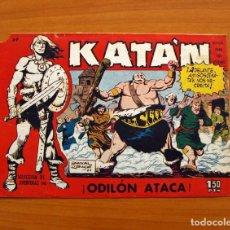 Tebeos: KATÁN - ODILÓN ATACA, Nº 37 - EDICIONES TORAY 1960 . Lote 130493782