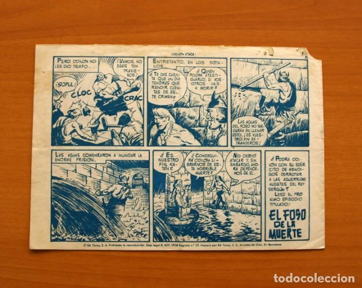 Tebeos: Katán - Odilón ataca, nº 37 - Ediciones Toray 1960 - Foto 7 - 130493782