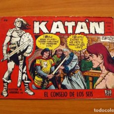 Tebeos: KATÁN - EL CONSEJO DE LOS SEIS, Nº 38 - EDICIONES TORAY 1960 . Lote 130494014