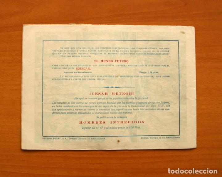 Tebeos: El Mundo futuro - No hay enemigo pequeño, nº 21 - Ediciones Toray 1955 - Foto 7 - 130504730