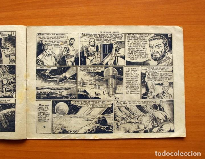 Tebeos: El Mundo futuro - El Satélite Negro, nº 22 - Ediciones Toray 1955 - Foto 3 - 130505358