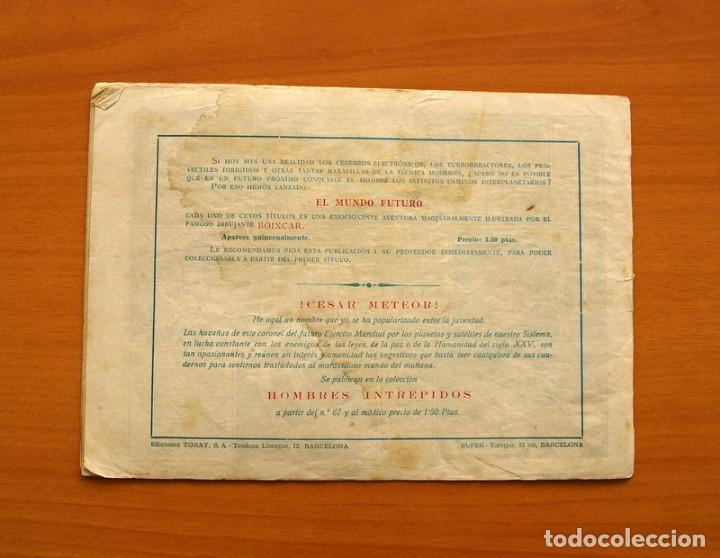 Tebeos: El Mundo futuro - El Satélite Negro, nº 22 - Ediciones Toray 1955 - Foto 7 - 130505358