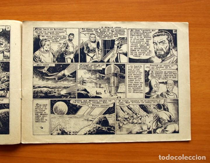 Tebeos: El Mundo futuro - El Satélite Negro, nº 22 - Ediciones Toray 1955 - Foto 3 - 130505390