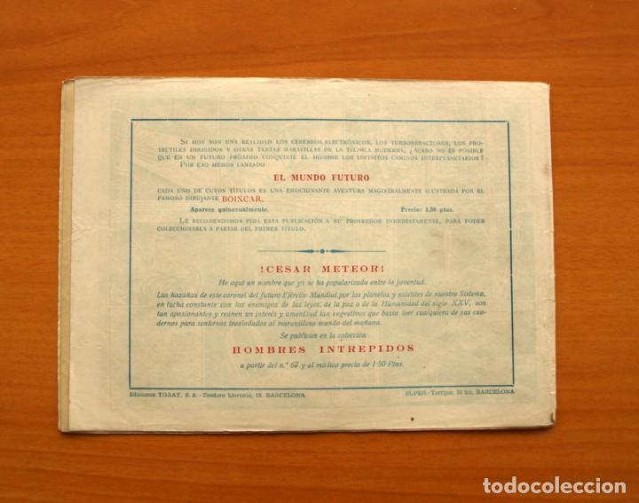Tebeos: El Mundo futuro - El Satélite Negro, nº 22 - Ediciones Toray 1955 - Foto 7 - 130505390