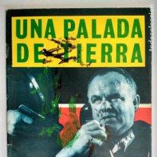 Comics - ESPIONAJE Nº 20 - UNA PALADA DE TIERRA, EDICIONES TORAY 1965 - 130611870
