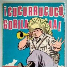 Tebeos: HAZAÑAS BELICAS, Nº 189 - CUCURRUCUCU GORILA, EDICIONES TORAY 1958. Lote 130616690