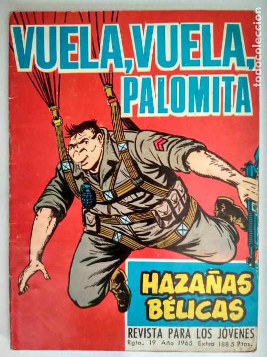 HAZAÑAS BELICAS, Nº 188 - VUELE, VUELE, PALOMITA, EDICIONES TORAY 1958 (Tebeos y Comics - Toray - Hazañas Bélicas)