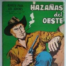 Tebeos: HAZAÑAS DEL OESTE Nº 137, EDICIONES TORAY, AÑO 1967. Lote 130628190