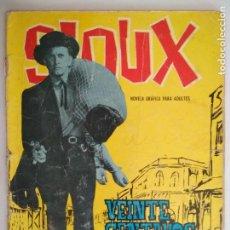 Tebeos: SIOUX Nº 21, EDICIONES TORAY, AÑO 1969. Lote 130630210