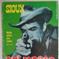 Tebeos: SIOUX Nº 53, EDICIONES TORAY, AÑO 1969. Lote 130630582