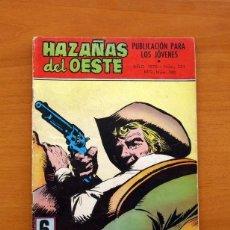 Tebeos: HAZAÑAS DEL OESTE - UN PISTOLERO AMABLE, Nº 221 - EDICIONES TORAY 1961. Lote 130673639