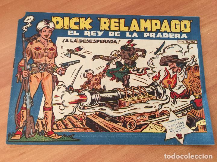 Tebeos: DICK RELAMPAGO LOTE Nº 2, 3, 9, 10, 16, 17, 20, 22 (TORAY ORIGINAL) (COIM8) - Foto 2 - 143381176