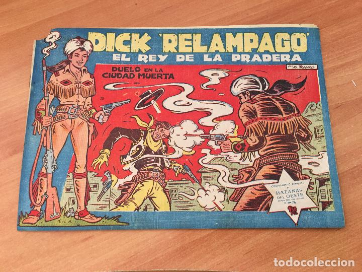 Tebeos: DICK RELAMPAGO LOTE Nº 2, 3, 9, 10, 16, 17, 20, 22 (TORAY ORIGINAL) (COIM8) - Foto 3 - 143381176