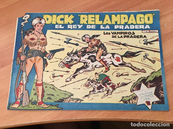 Tebeos: DICK RELAMPAGO LOTE Nº 2, 3, 9, 10, 16, 17, 20, 22 (TORAY ORIGINAL) (COIM8) - Foto 5 - 143381176