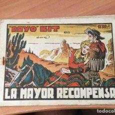 Giornalini: RAYO KIT Nº 24. ULTIMO DE LA COLECCION (ED. BRUGUERA) MUY DIFICIL (COIM7) RESERVADO. Lote 130808412