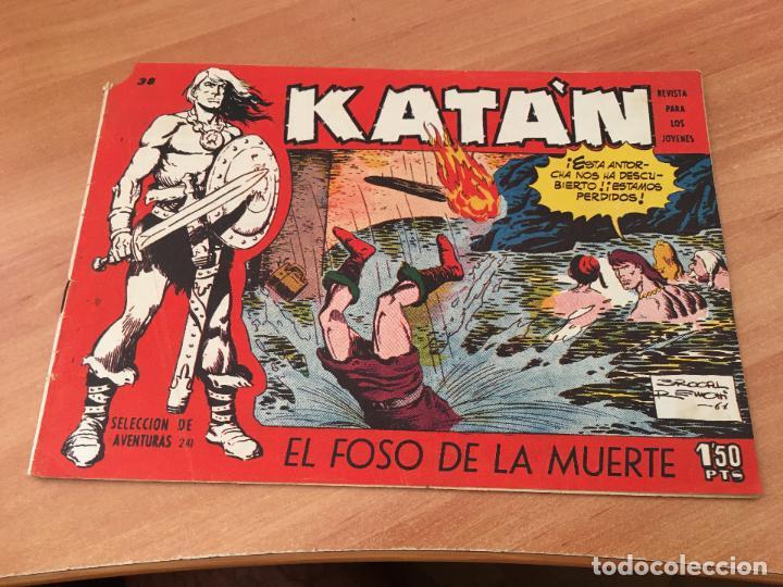 KATAN Nº 38 EL FOSO DE LA MUERTE (ED. TORAY) (COIM7) (Tebeos y Comics - Toray - Katan)