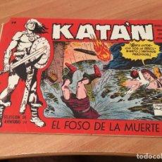 Tebeos: KATAN Nº 38 EL FOSO DE LA MUERTE (ED. TORAY) (COIM7). Lote 130810924