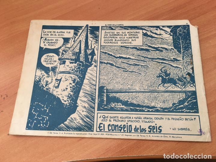 Tebeos: KATAN Nº 38 EL FOSO DE LA MUERTE (ED. TORAY) (COIM7) - Foto 2 - 130810924